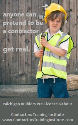 Michigan Builders              Pre-License 60 HourCourse